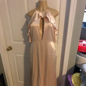 NWT light peach evening gown by Jill Stuart